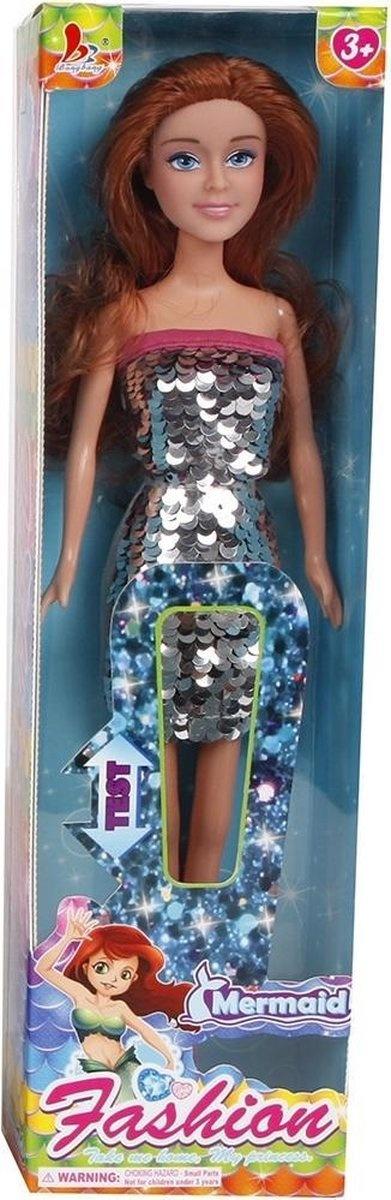 van Manen Tienerpop Glamour Doll Meisjes 29 Cm Zilver