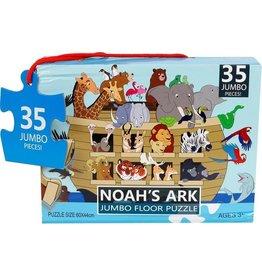 Jumbo Jumbo Vloerpuzzel Noah's Ark Junior 60 Cm Karton 35 Stukjes