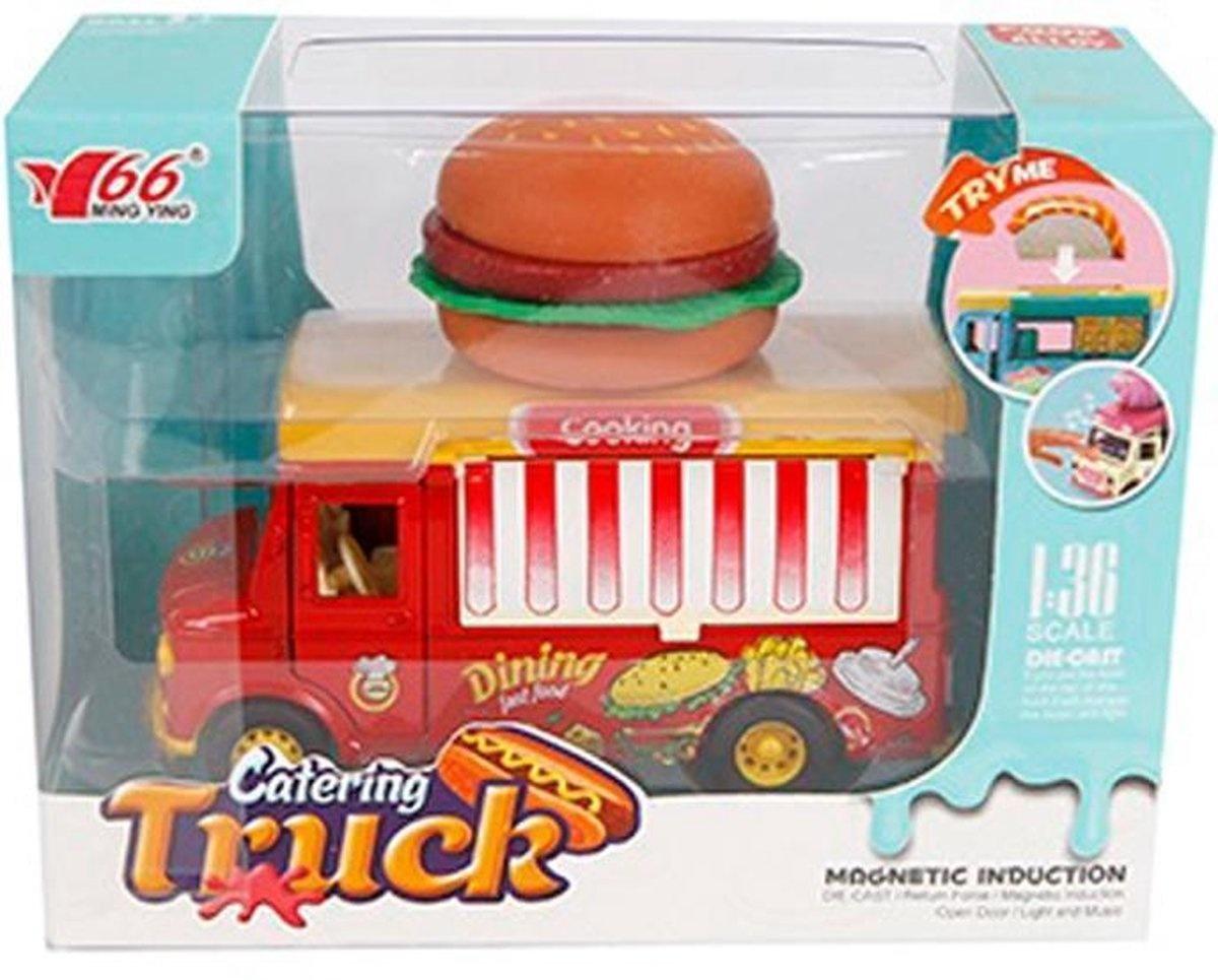 van Manen Foodtruck hamburger die cast