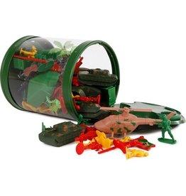 van Manen Mission Control Speelset Leger Jongens Groen 83-delig