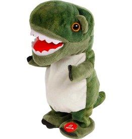 Dino World Dinoworld Loopdino Jongens 20 Cm Pluche Groen
