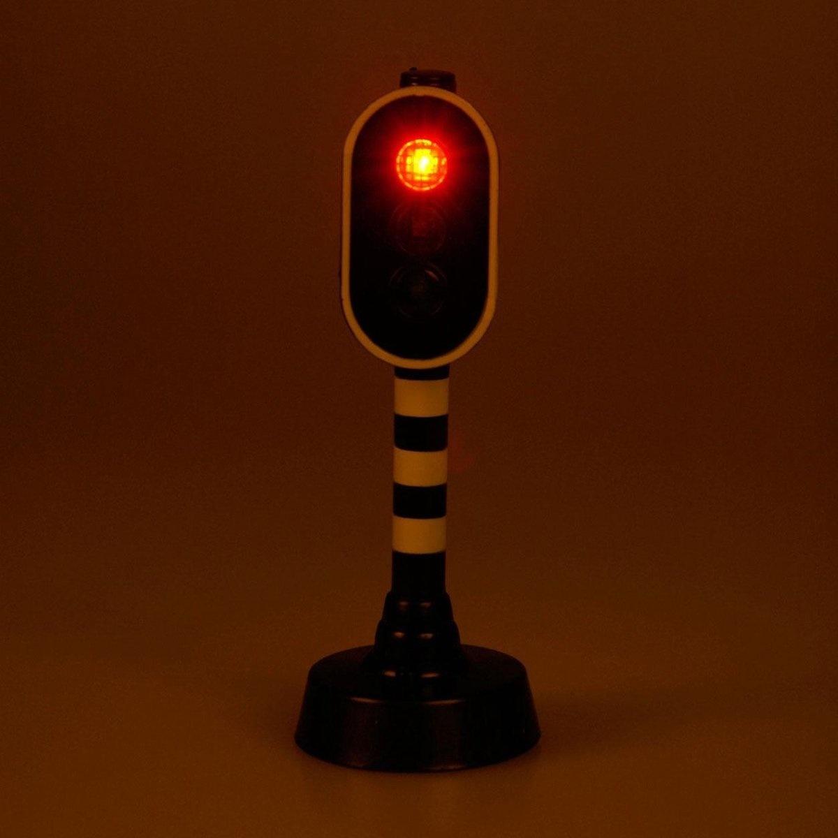 van Manen Kids Globe Stoplicht met licht - Speelfiguur: 12 cm
