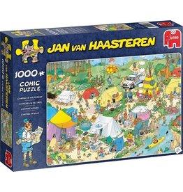 Jan van Haasteren Puzzel 1000 kamperen ih bos