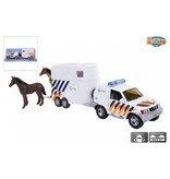 2-Play Auto 2-Play politieauto met paardentrailer