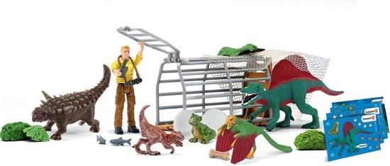 Schleich Adventskalender dinosaurus