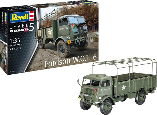 Revell Fordson W.O.T. 6 | 1:35