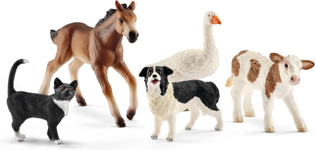 Schleich Dier boerderij dieren ass