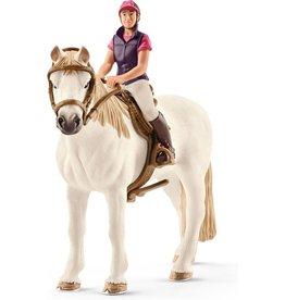 Schleich Dier ruiterin met paard