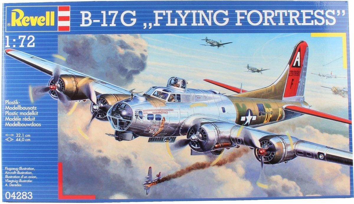 Revell B-17g flying             revel
