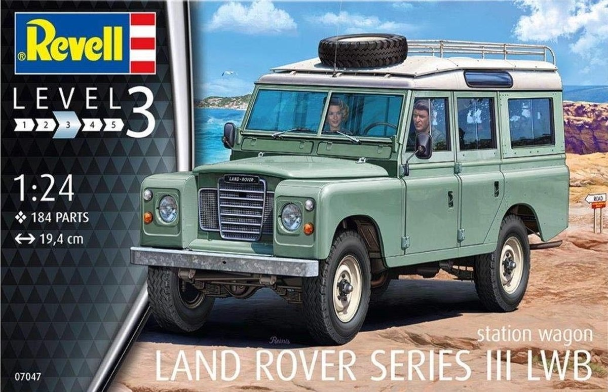 Revell Landrover series iii lwb
