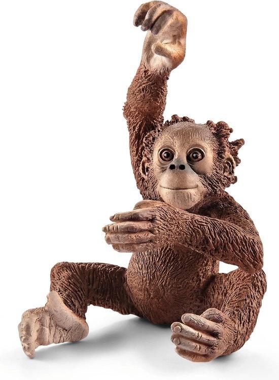 Schleich Dier orang utan jong