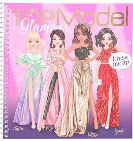Top Model Dress me up stickerboek glamou