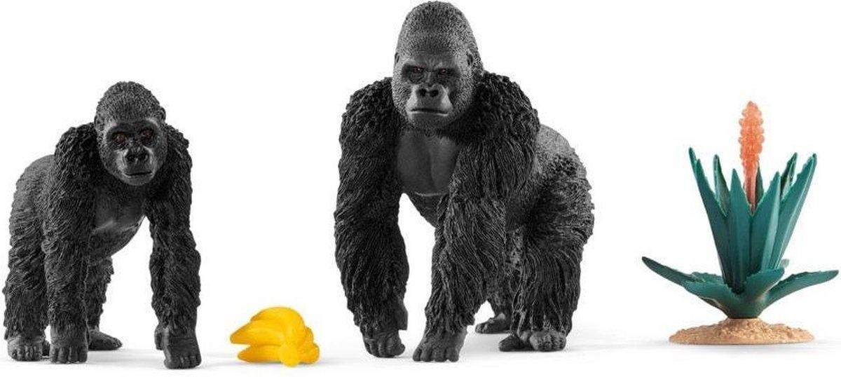Schleich Etende gorilla's