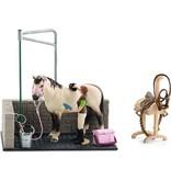 Schleich Horse club paarden wasbox