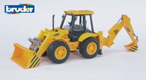 Bruder Bruder JCB 4CX tractor met voor-en achterlader
