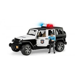Bruder Bruder Jeep Wrangler Unlimited Rubicon Politie