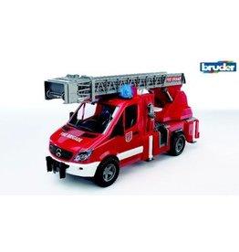 Bruder Bruder MB Sprinter brandweer ladderwagen