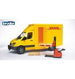 Bruder Bruder MB Sprinter DHL met palletheffer en pallets