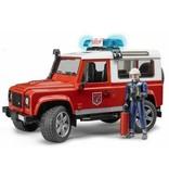 Bruder Bruder Land Rover Defender Brandweer