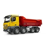 Bruder Bruder MB Arocs Halfpipe dump truck
