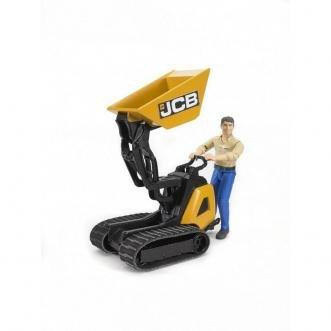 Bruder JCB Micro dumper HTD-5 met bestuurder