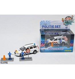 Kids Globe Politie Die Cast Volvo V70 met accesoires L/G