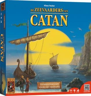 999 Games De Kolonisten van Catan:De Zeevaarders