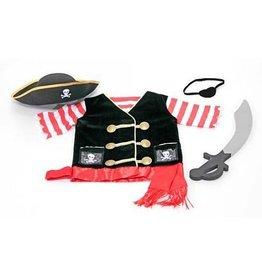 Melissa & Doug Piraat verkleed kleding