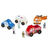 Melissa & Doug Melissa & Doug Emergency Vehicle Set
