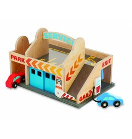 Melissa & Doug Melissa & Doug Service Station Parking Garage