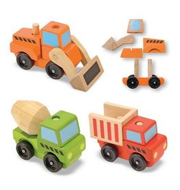 Melissa & Doug Melissa & Doug Stacking Construction Vehicles