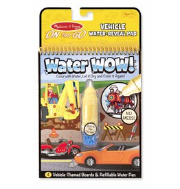 Melissa & Doug Water Wow Vehicles