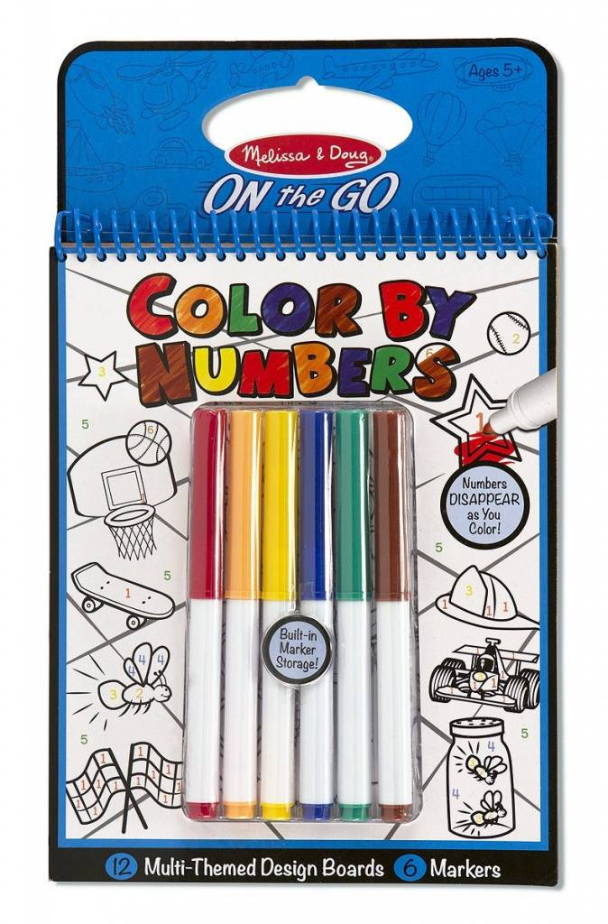Melissa & Doug Color By Numbers Multi