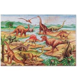 Melissa & Doug Vloerpuzzel Dinosaurs 48-st