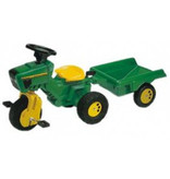 Tractor Rolly Toys Rollykid + aanhanger (052769)