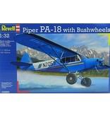 Revell Revell 04890 Piper PA-18 met Bushwheels