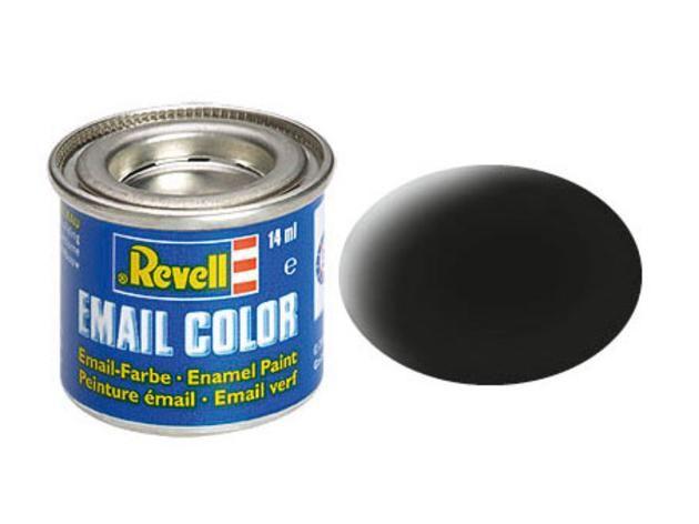 Revell Revell 32108 zwart mat 14 ml