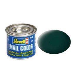 Revell Revell 32140 zwart-groen mat 14 ml