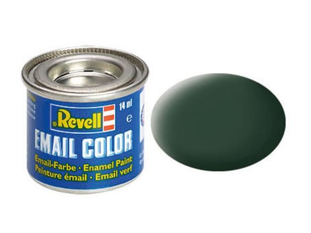 Revell Revell 32168 donkergroen mat RAF 14 ml