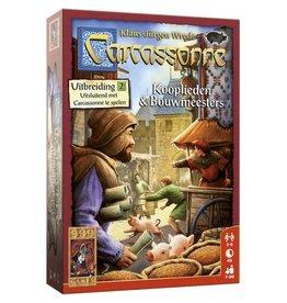 999 Games Carcassonne Uitbr. Kooplieden en Bouwmeesters