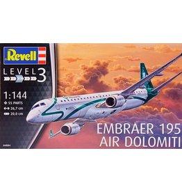 Revell Revell 04884 Embraer 195 Air Dolomiti Civilian Airliner