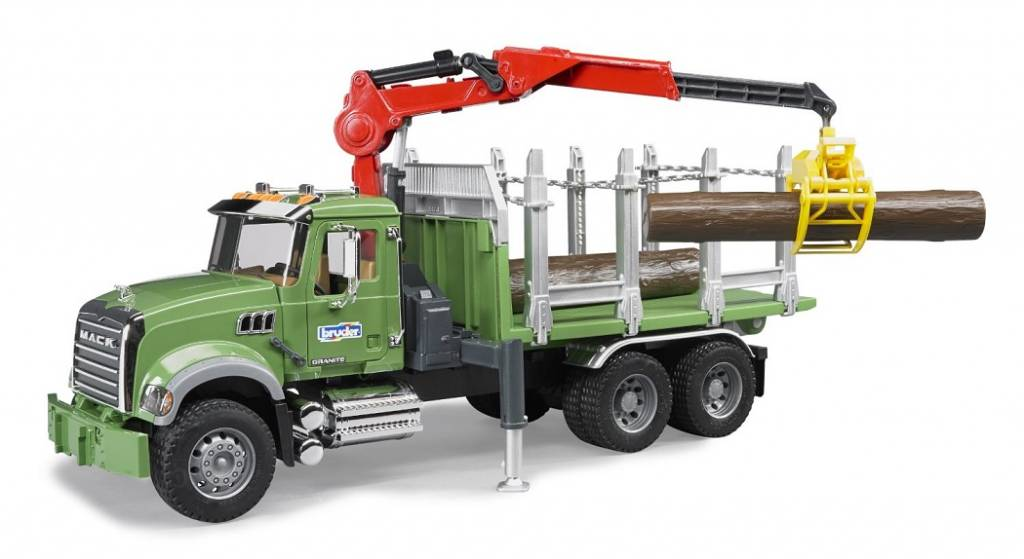 Bruder Bruder 028244 Vrachtwagen met Laadkraan