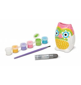 Melissa & Doug 19538 Decorate Your Own Owl Bank