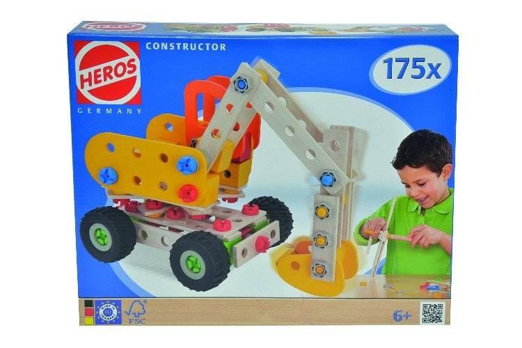 Heros HS39034 Constructor baggerkraan 175-delig