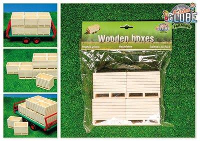 Kids Globe Kids Globe VM10022 Houten aardappelkisten