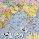 Larsen Larsen SS-K1 Puzzel de Wereld Staatkundig