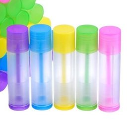 5 stuks lipbalsemstift gekleurd