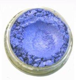 Parelmica  lichtblauw goud