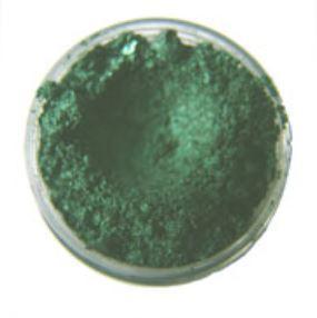 Parelmica diep groen 5 gram