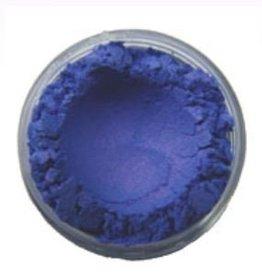 Parelmica kobalt blauw